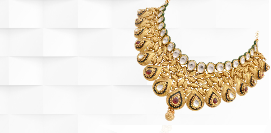 necklaces jewelry jewellery svtm set gold necklace a online indian wg